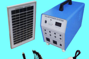 100W Solar Powered Lamp and Lights Indoor For Remote Area