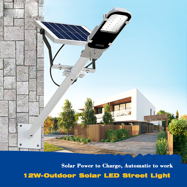 10W LED Solar Street Light for Brightening Street Lighting
