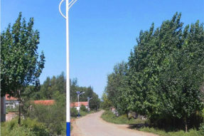 30W Solar Street Lamp with Outdoor Roadway Lighting System