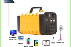 500W Portable Solar Power Supply for AC and DC Devices