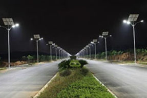 What is advantages of solar LED lighting ?