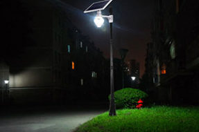 What is Solar Energy Lamp Integrated ?