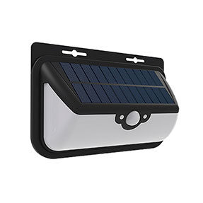 6W Backyard Motion Sensor Solar Light with Waterproof IP65