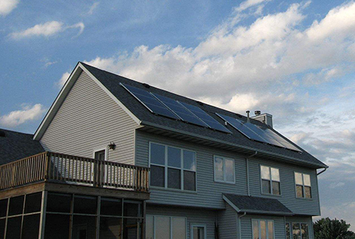 home solar power system for rooftop