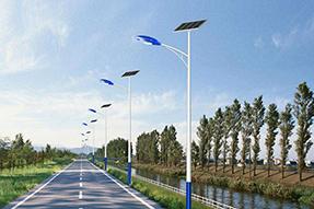 How to correctly configure solar street light ?