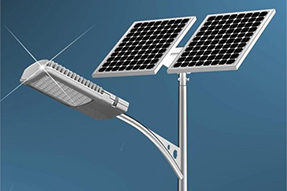 What is current production technique for solar LED lighting ?