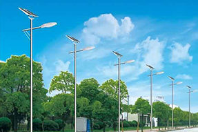 What is price difference between solar street light and traditional street light ?