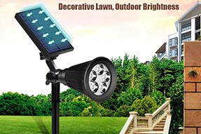 Would you like to learn more knowledge for solar lawn light?