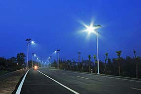 What should we do if solar street light not work after installation ?