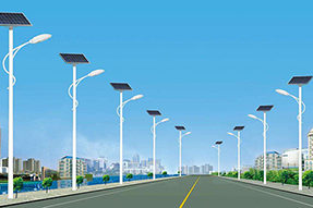 How to calculate the configuration for solar street light ?