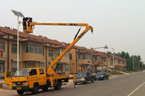 Do you know what is the installation process for solar street light ?