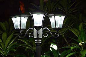 Reveal the Secret of Solar Powered LED Garden Light