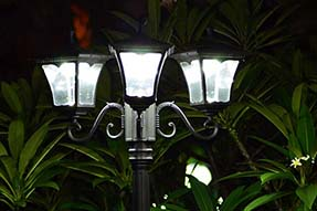 Reveal the Secret of Solar Powered LED Garden Light