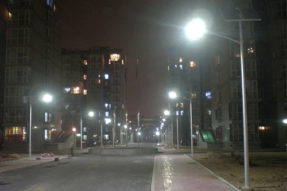 Why is LED being chosen for the Lighting Source of outdoor solar street light ?