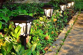Why Solar Powered Garden Lights are Required to Decorate Courtyard ?