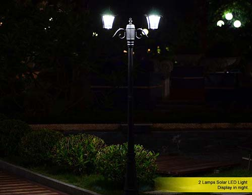 what types of decorative outdoor solar landscape light should be