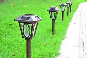 How to Operate Garden Landscaping Solar Lawn Light (Use Manual ) ?