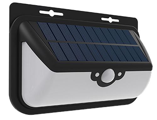 Motion sensor outdoor solar wall light