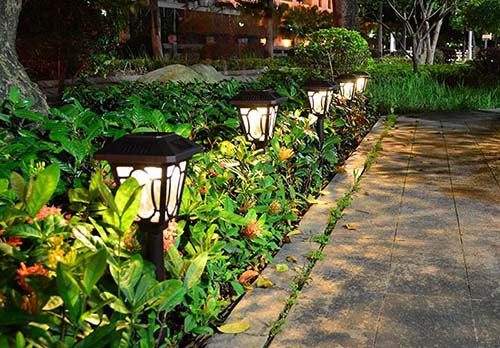 outdoor decoration solar landscape light
