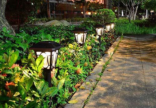 outdoor decoration solar landscape light