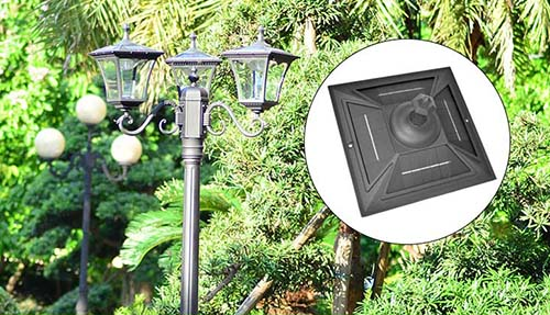 outdoor solar landscaping light