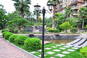 What is Working Principle for Outdoor Solar Landscaping Light ?