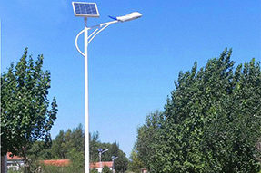 Why is solar street light seldom appearing in Big Cities ?