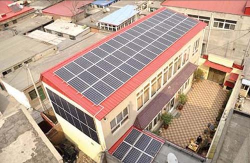 home rooftop solar PV system