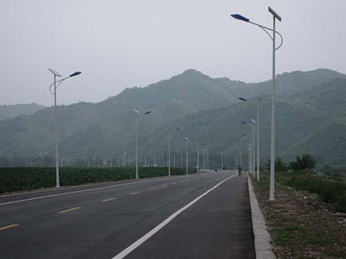 outdoor solar street lamp