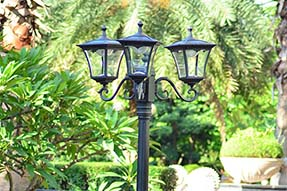 What should be noticed when to design solar LED landscape light?