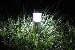 Solar Powered LED Lawn Light Greatly Beautify Garden Landscape