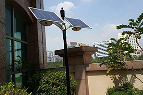 What reasons may cause solar powered courtyard light breakdown all the time?