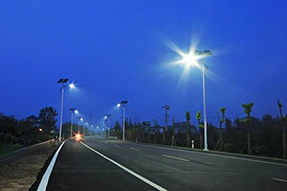 Why can solar powered street lamp be energy-saving?