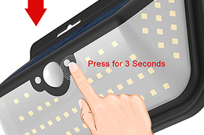 What is 6W Solar LED Motion Sensor Wall Light?