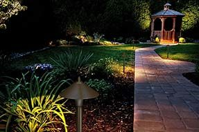 What is different for LED Garden Light and LED Landscape Light?