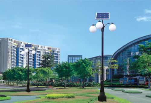 LED Solar Landscape Light