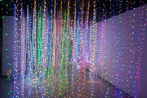 The main market of LED lighting decoration is in Europe and America