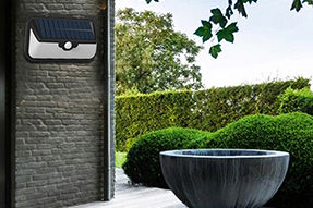 What benefits can I get if to install light-control solar wall light?