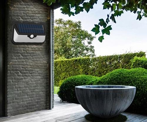 light-control solar wall light