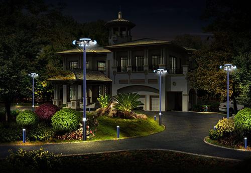 solar garden light and LED garden light