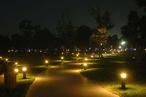 Do you have some tips for the selection of solar powered LED lawn light?