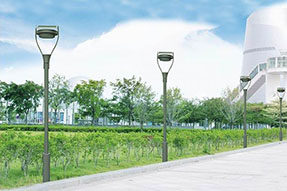 Why is some solar powered garden lamp no work after installation?