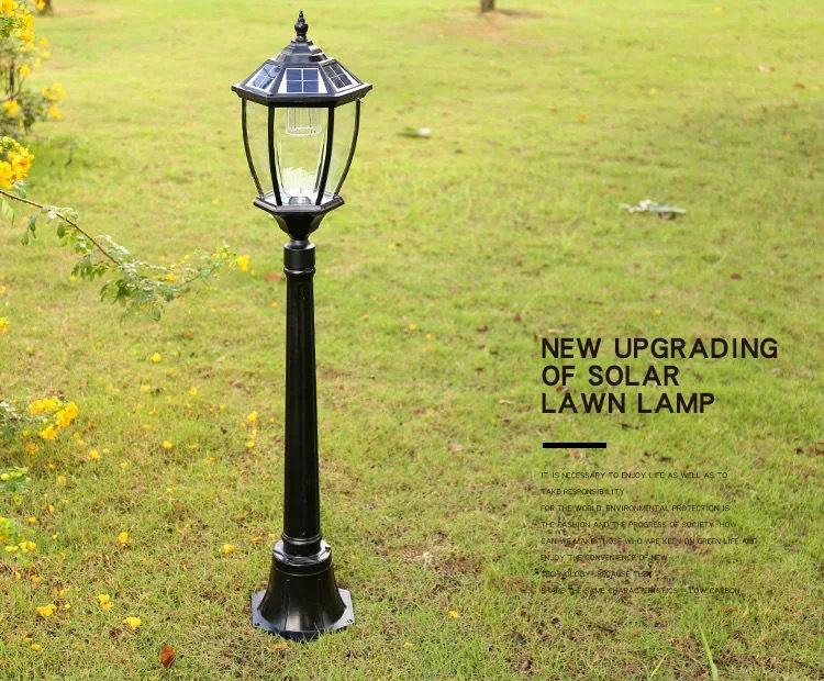 LED solar lawn light