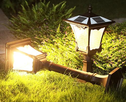 Solar LED garden landscape light