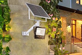 What is the global market development tendency for Solar LED Flood Light?