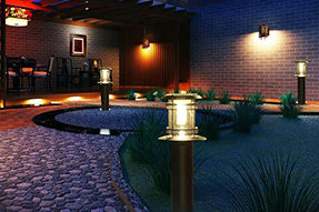What is difference between solar LED garden light and solar LED lawn light?