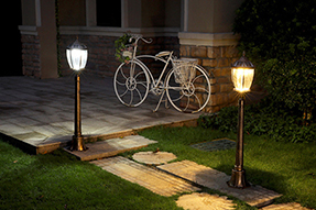 What can be classified for solar LED lawn light?