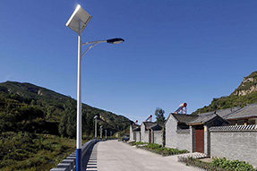 How many hours can solar LED street light work in a night?