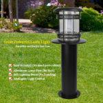 solar powered lawn light