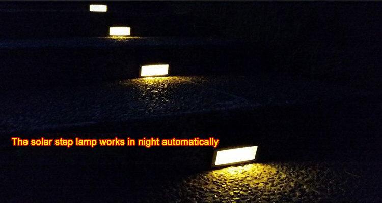 Solar LED Step Light